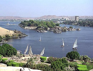 Felluca nile tour in Aswan