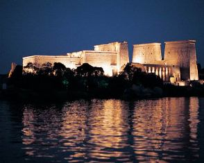 Sound & Light show at Philae