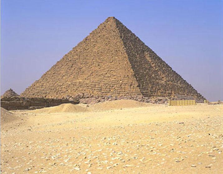menkaure pyramid
