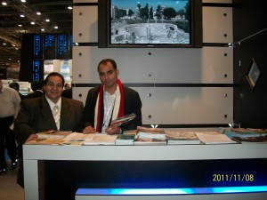 Ramses tours founders in WTM London