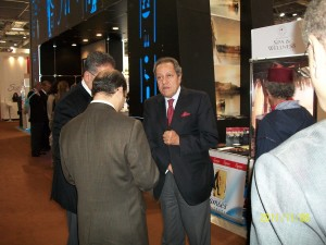Egyptian minister with Ramses tours staff
