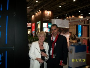 Ramses CEO with Gloria Hunniford