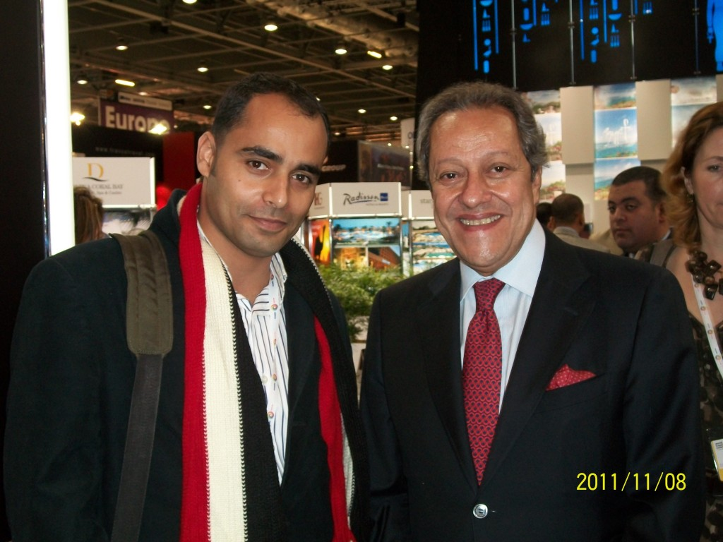 Ramses tours CEO with Egyptian minister of tourism in WTM London